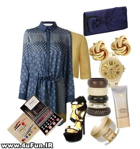 ست لباس پاییزه زنانه
