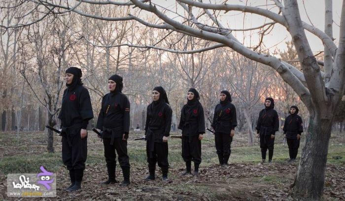 عکس   عکس های از دختران سوپر نینجا ایرانی