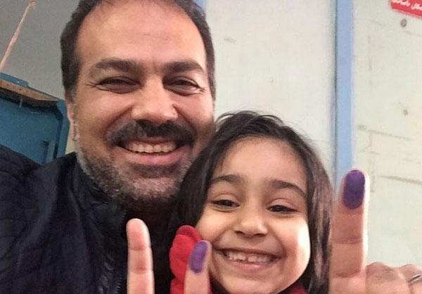 حضور بازیگران و افراد مشهور در انتخابات
