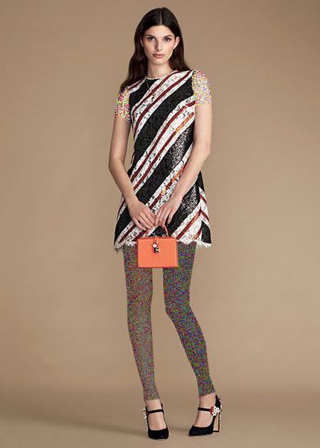 جدیدترین مدل لباس بهاری زنانه,مدل پیراهن های زنانه دولچه و گابانا